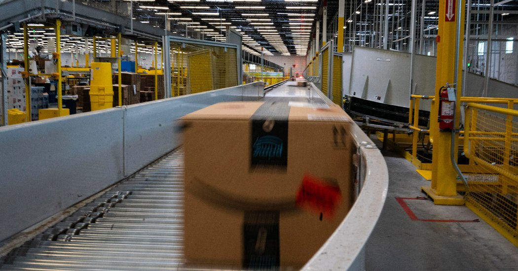 Photo of Amazon Said to Be Under Scrutiny in 2 States for Abuse of Power