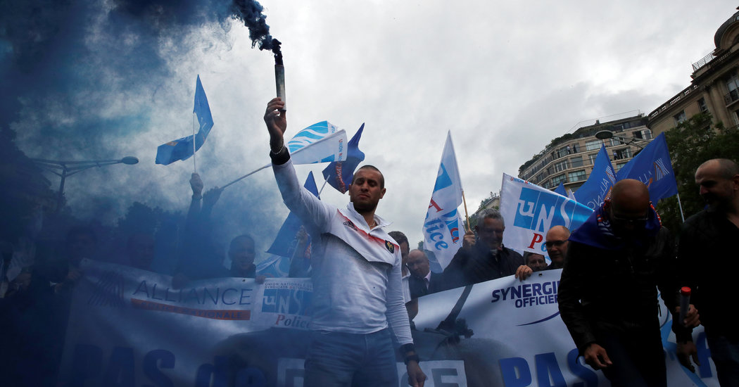 French Police Push Back Against Proposed Reforms