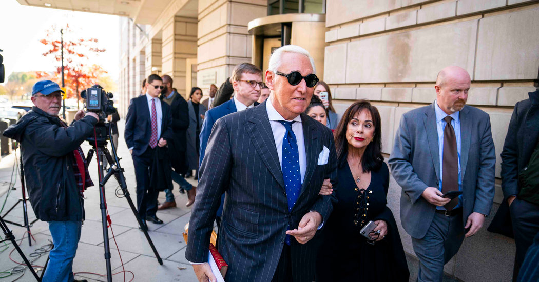 Mueller Report Redactions on Roger Stone Are Revealed