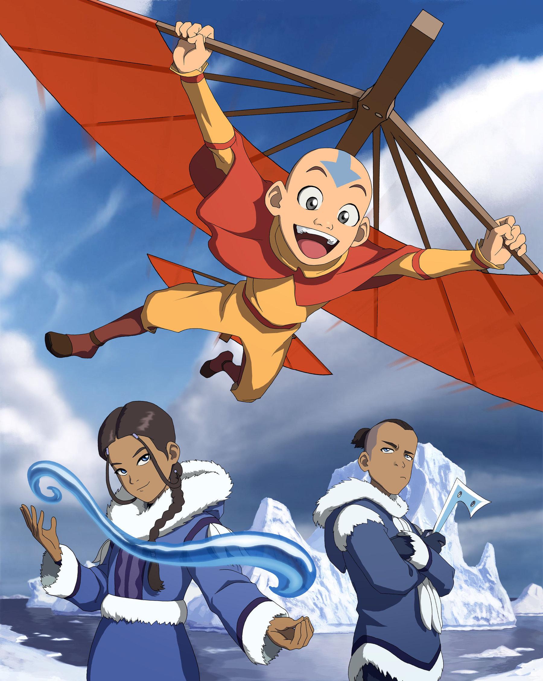 Avatar Cartoon Cast : avatar, cartoon, Avatar:, Airbender', Imagines, World, Whiteness, Times