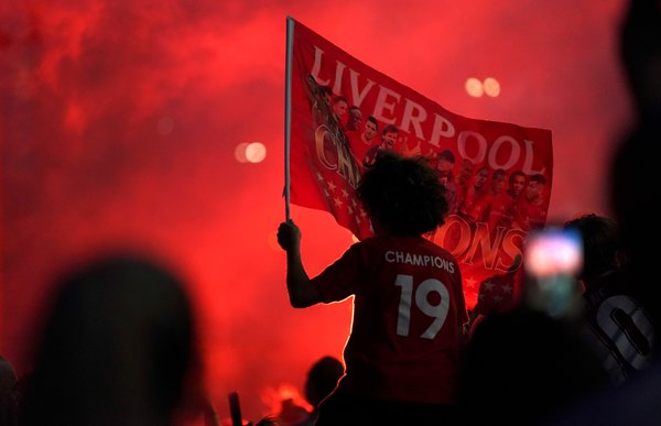 Liverpool's league title was its 19th over all, but its first in the Premier League era.