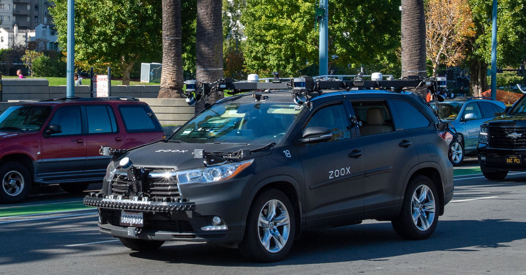 Photo of Amazon to Buy Zoox, in a Move Toward Self-Driving Cars