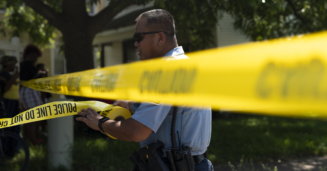 It's Been 'Such a Weird Year.' That's Also Reflected in Crime Statistics.