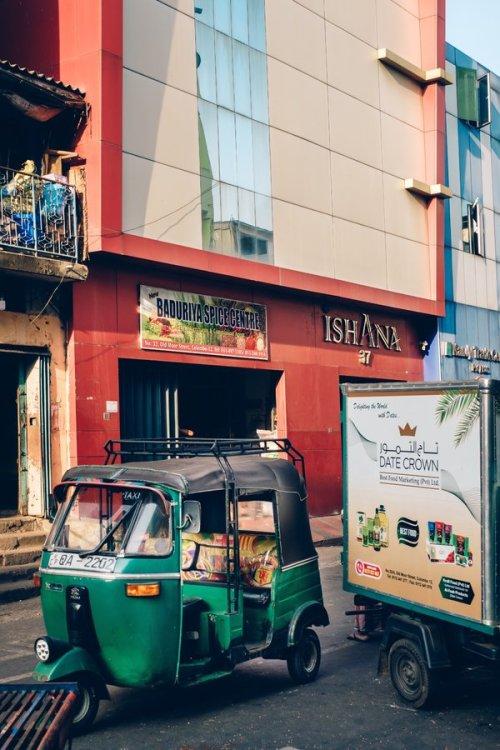 Mohamed Ibrahim's Ishana Exports building in Colombo.