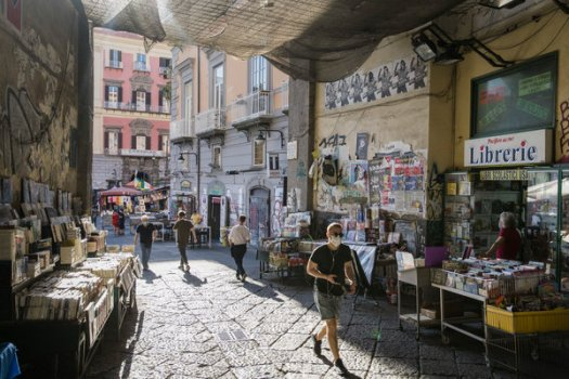 In Naples last month. Italy, the E.U.'s third-largest economy is seen as worst-affected, set to shrink by 11.2 percent.