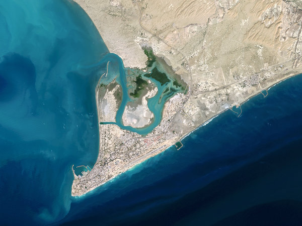 Jask, located at the entrance to the Persian Gulf, would give the Chinese a strategic vantage point on the waters through which much of the world's oil transits.