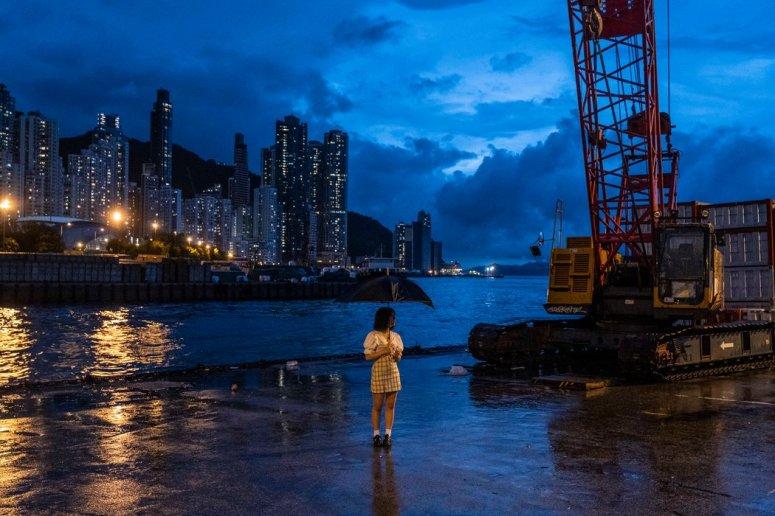 """位于香港西环的码头也被誉为""""Instagram码头""""。"""