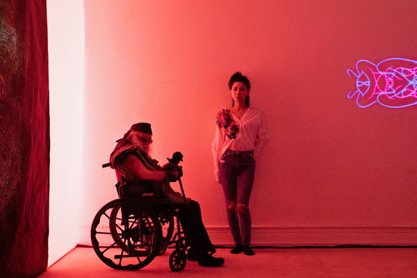 Young and Jung Hee Choi, his longtime student and collaborator.