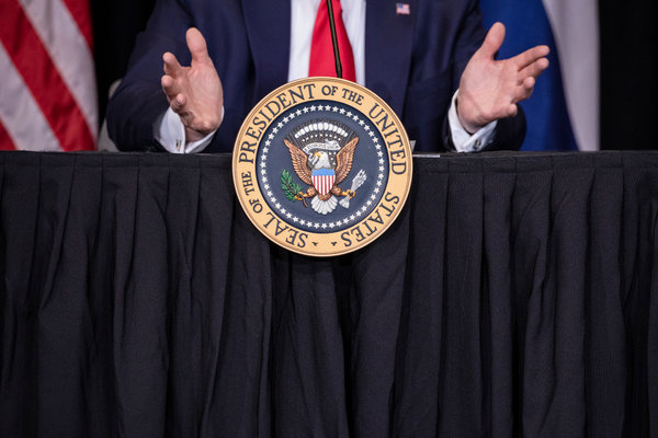 There are 16 weeks to go before the general election between President Trump and his Democratic opponent, Joe Biden.