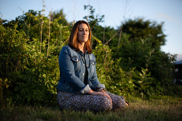 Megan Kent of Salem, Mass., tested positive for coronavirus in March 30 after feeling sick. She got better, went back to work and then felt sick again in May, testing positive a second time for the virus.