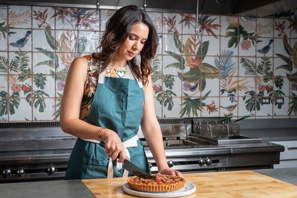 Daniella Senior, a restaurateur and activist in Washington, D.C., started a baking business with six employees when she was 13 years old.