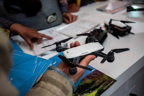 研究稱大疆無人機控制應用存在安全漏洞 - 紐約時報中文網
