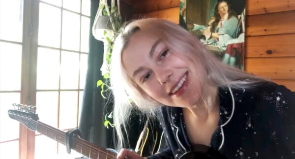 Phoebe Bridgers played her first livestream of the pandemic in April for Pitchfork.