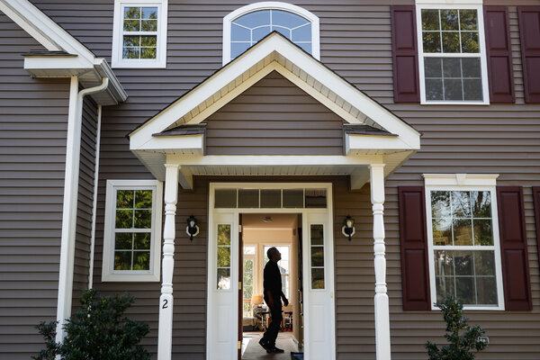 A new home in Washingtonville, N.Y., beyond New York City's northern suburbs. Unusually low interest rates have bolstered the real estate market.