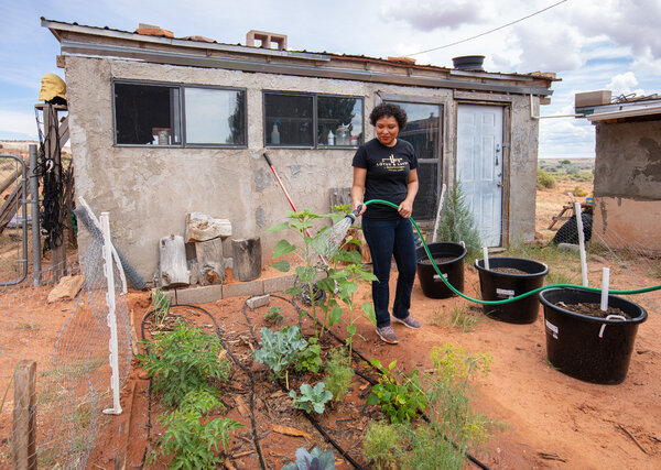Summer Brown moved back to the Navajo Nation to reconnect with the land and expose her two children to Diné culture.