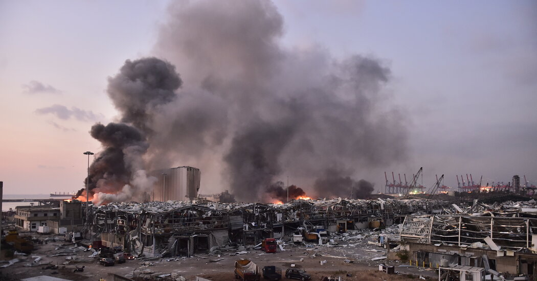 What Footage of the Beirut Explosion Tells Us About the Blast [Video]