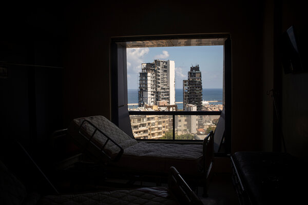 Yuri Abou Mrad's empty room at St. George.