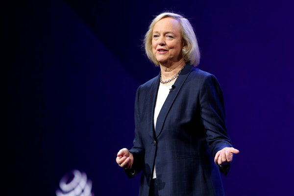 Meg Whitman, a major Republican fund-raiser, is one of several prominent Republicans who will speak on Monday at the Democratic National Convention.