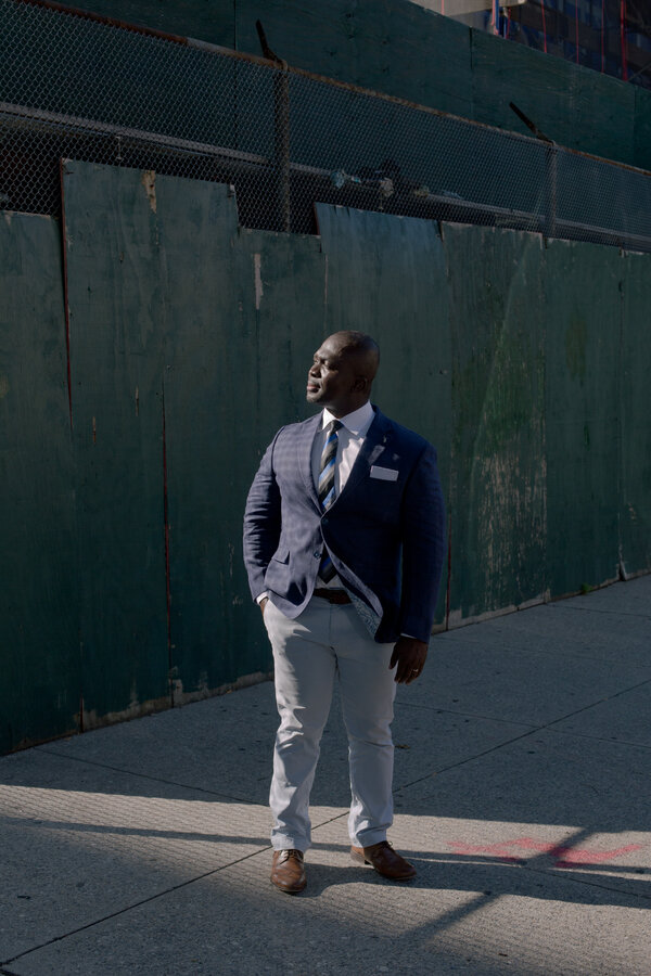 """""""We don't know how long this is going to be sustainable,"""" said David Anokye, who owns a travel agency in the Bronx that primarily serves Ghanaian immigrants."""