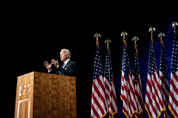 Joseph R. Biden Jr. accepted the Democratic nomination for president in Wilmington, Del., last week.