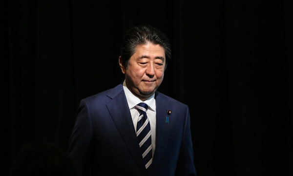 Shinzo Abe, Japan's Longest-Serving Leader, to Resign Because of Illness -  The New York Times