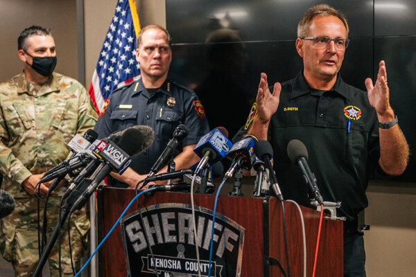 Sheriff David Beth of Kenosha County said in an interview that the presence of self-styled militia members deepened the confusion during a fatal shooting.