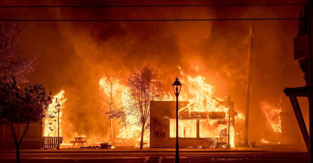 False Rumors That Activists Set Wildfires Exasperate Officials