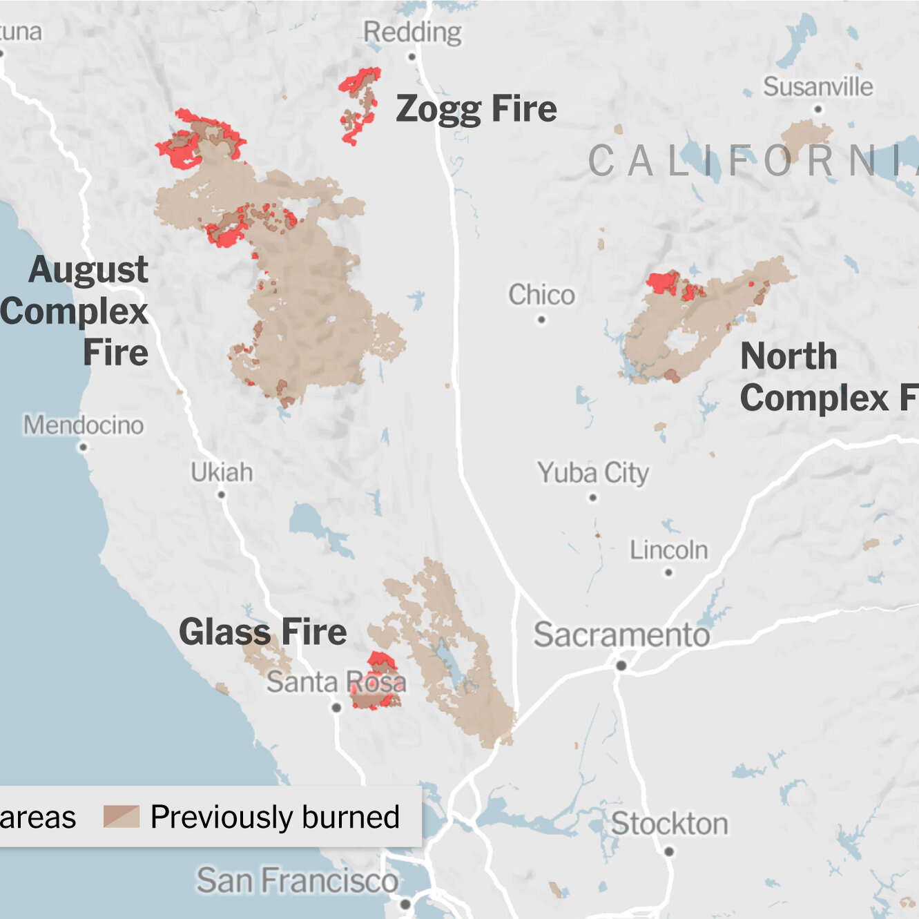 Today's mother's day deal of the day: Fire Map California Oregon And Washington The New York Times