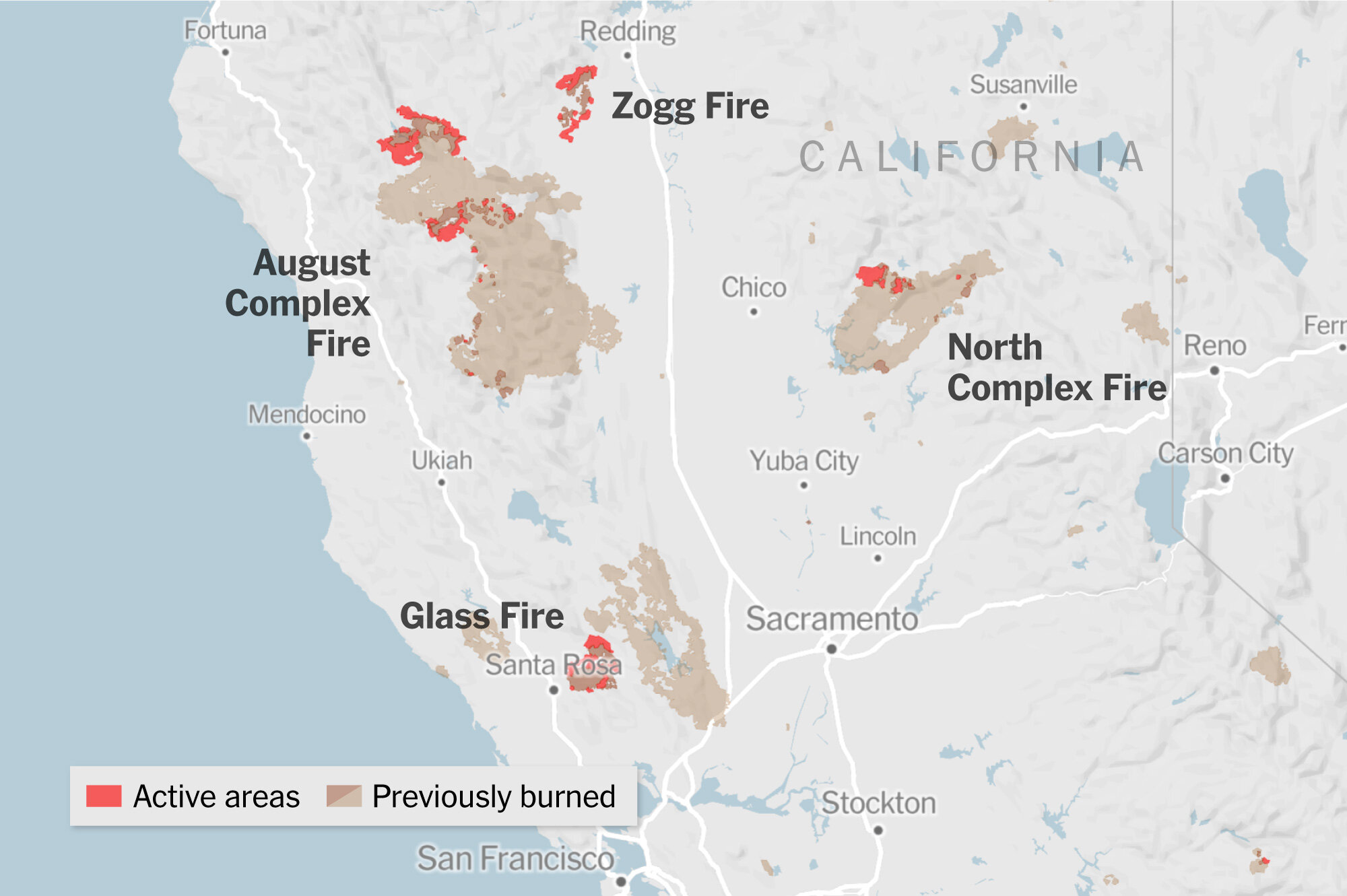 Wildfires, including grassland fires and forest fires, are an ongoing concern where there is dry, hot weather. Fire Map California Oregon And Washington The New York Times