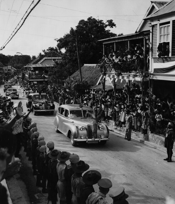 Mr. Harris was born in Jamaica's St. Ann Parish while it was still under British colonial rule. The queen visited in 1953.