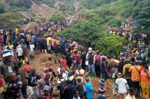 More Than 50 People Dead After Landslides Collapse Three Gold Mines in Eastern Congo