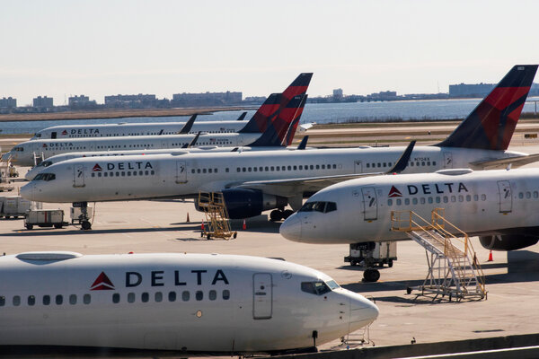 More than 40,000 Delta employees have volunteered to take short-term or long-term unpaid leaves.