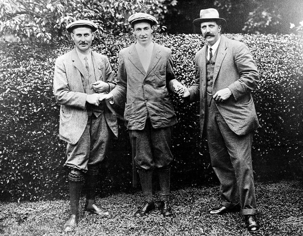 Francis Ouimet's win in 1913 created a huge influx of golfers in America.