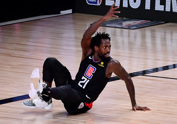 Patrick Beverley and the Clippers lost a three-games-to-one lead in the series.