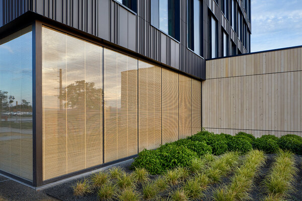 Catalyst is the newest of 384 large mass timber buildings in the United States.