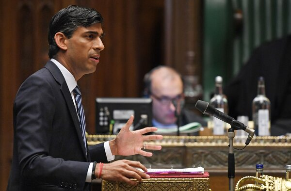 Rishi Sunak, the chancellor of the Exchequer, announced a program in which the government and employers will share the cost of the wages for workers on shorter hours.