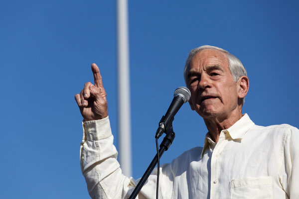 Ron Paul, the former congressman and father of Senator Rand Paul, appeared to experience a medical episode on Friday, slurring his words while appearing on a livestream video.