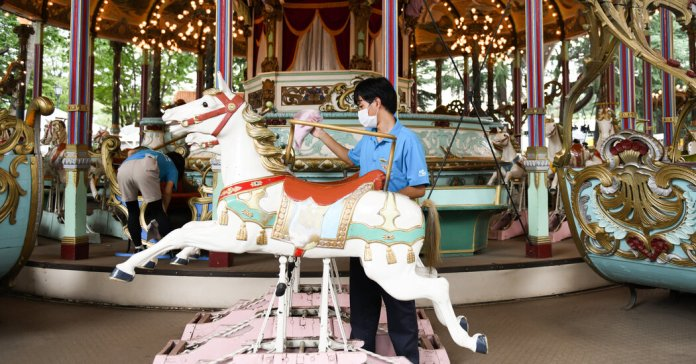 This Carousel Has Had Quite a Ride. Will Anyone in Japan Save It?