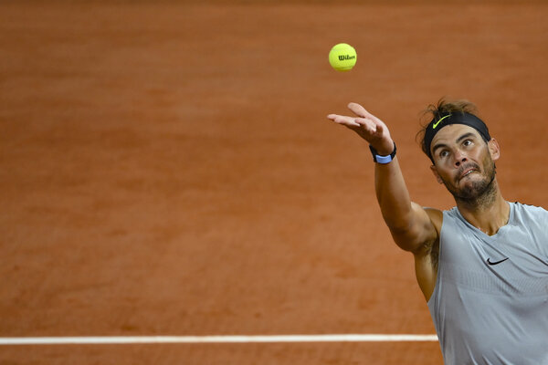 Rafael Nadal is chasing his 13th French Open men's singles title.