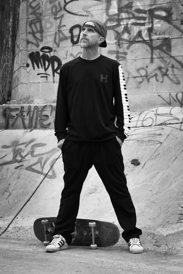 "A former associate called Mr. Hufnagel ""a powerful skater"" who ""lands perfectly, and not in a gnarly, aggressive, attacking-the-streets way."""