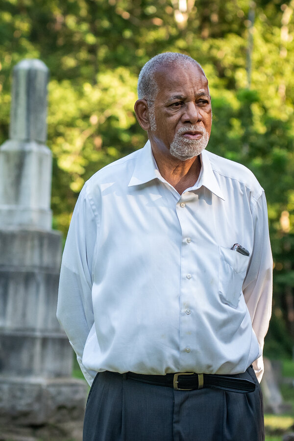 The Rev. Leroy Williams said he looked after the Magnolia Cemetery in Helena, Ark., pretty much by himself.