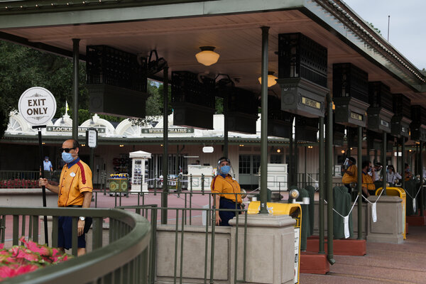 Walt Disney World in Florida reopened in July but attendance has been weaker than expected.
