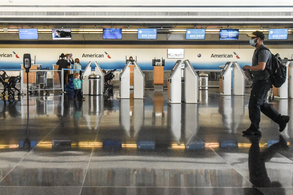 American Airlines, the largest U.S. airline, started furloughing 19,000 workers on Thursday.