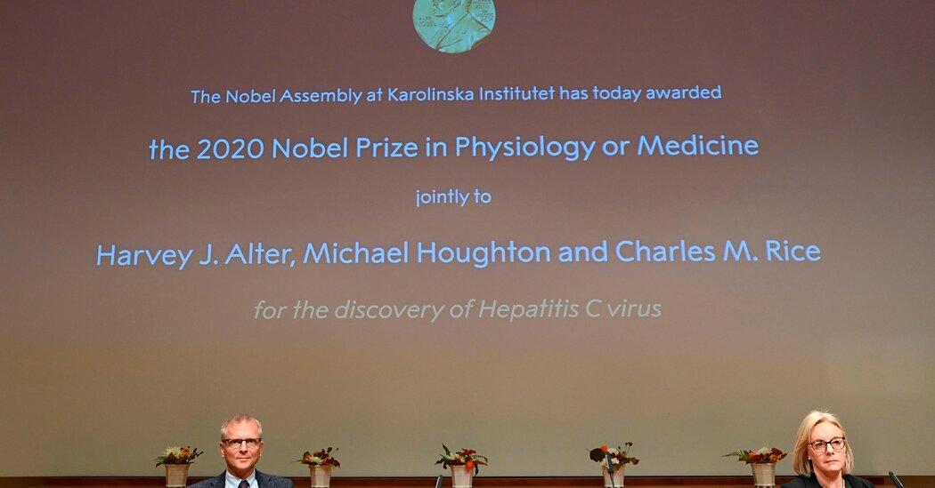 Nobel Prize in Medicine Awarded to Scientists Who Discovered Hepatitis C Virus