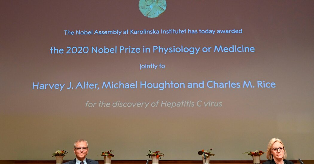 Nobel Prize in Medicine Awarded to Scientists Who Discovered Hepatitis C Virus