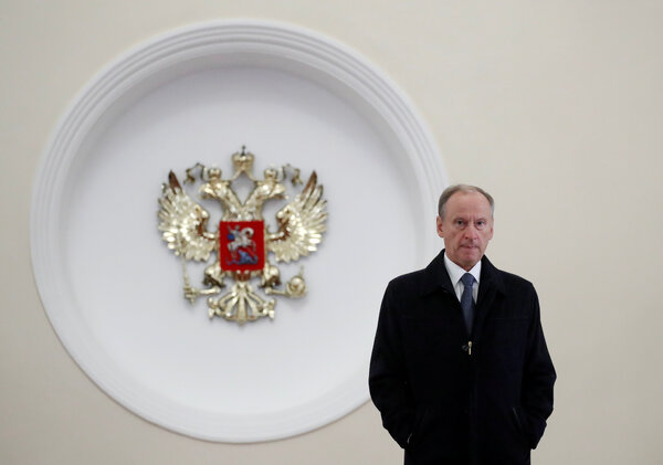 Nikolai Patrushev, secretary of Russia's Security Council.