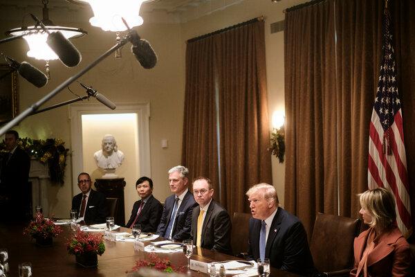 El presidente Trump se reunió con representantes de los países miembros del Consejo de Seguridad de la ONU.