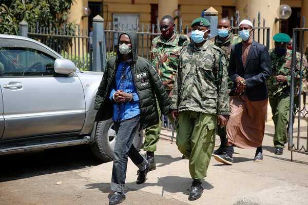 Men convicted of complicity in the Shabab's 2013 attack on a mall in Nairobi, Kenya.The Shabab have found new ways to make and invest money in their home base, Somalia, a United Nations panel says.