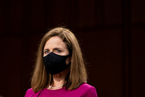 The first day of Judge Amy Coney Barrett's Senate confirmation hearing was marked by the expected partisan divides.