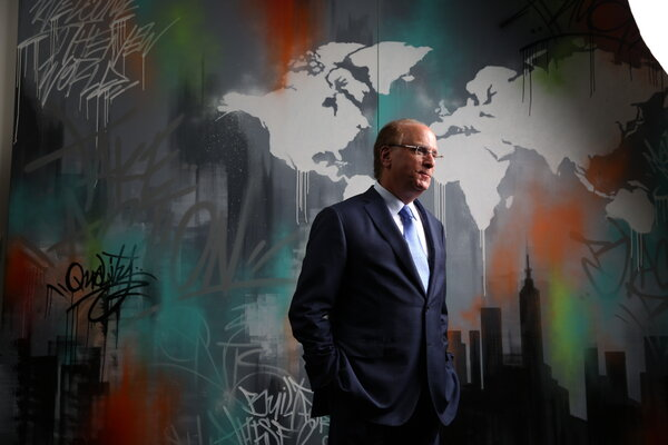 """""""Our diverse platform saw inflows across all asset classes, investment styles and regions,"""" BlackRock's chief executive, Laurence D. Fink, said in the company's earnings release."""